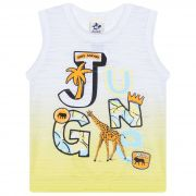 Camiseta Infantil Masculino - Ref 4743  - Branco - Andritex