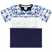 Camiseta Infantil Masculino - Ref 4916 - Marinho - Andritex