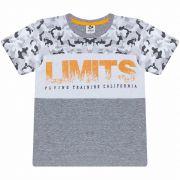Camiseta Infantil Masculino - Ref 4916 - Mescla - Andritex