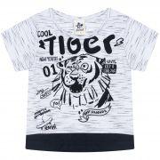 Camiseta Infantil Masculino Tiger - Ref 4867 - Branco - Andritex