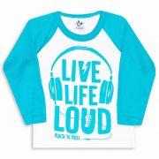 Camiseta Raglan Andritex 019 Branco