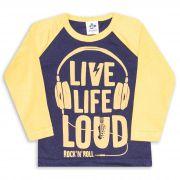 Camiseta Raglan Andritex 019 Marinho