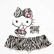Camisola Infantil Feminino Hello Kitty 87681 Natural