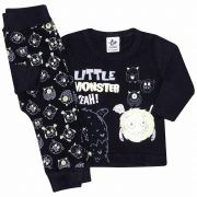 Conjunto Infantil Masculino Andritex Little Monster Preto