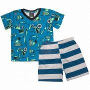 Conjunto Pijama Infantil Masculino Quimby 27487