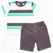 Conjuto Infantil Masculino Quimby 21048 Verde