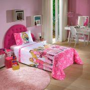 Jogo de Cama Infantil Dohler 100% Algodão 3 peças -  Barbie