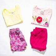 Kit 2 Conjuntos Infantil Feminino Tamanho P