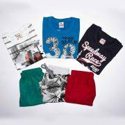 Kit 3 Conjuntos Infantil Masculino Disney, Brandilli e Quimby Tamanho 3