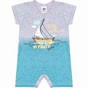 Macacão Infantil Masculino Pirate - Ref 4826 - Mescla - Andritex