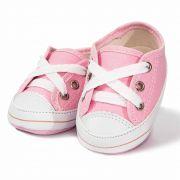Tênis Infantil Feminino Baby Soffete T10 Rosa