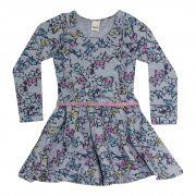 Vestido  Feminino  2 peças - Ref 34200 - Mescla - Ralakids
