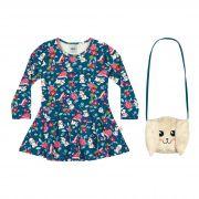 Vestido Infantil Elian - Ref 231161 - Azul