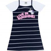 Vestido Infantil Feminino + Blusa - Ref 4888 - Marinho - Andritex