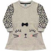 Vestido Infantil  - Ref 4962 - Mescla
