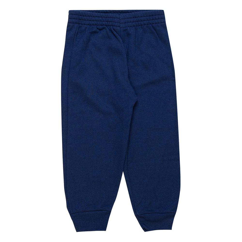 Calça de Moletom Feminina Infantil  1 peças - Ref 1954 - Azul