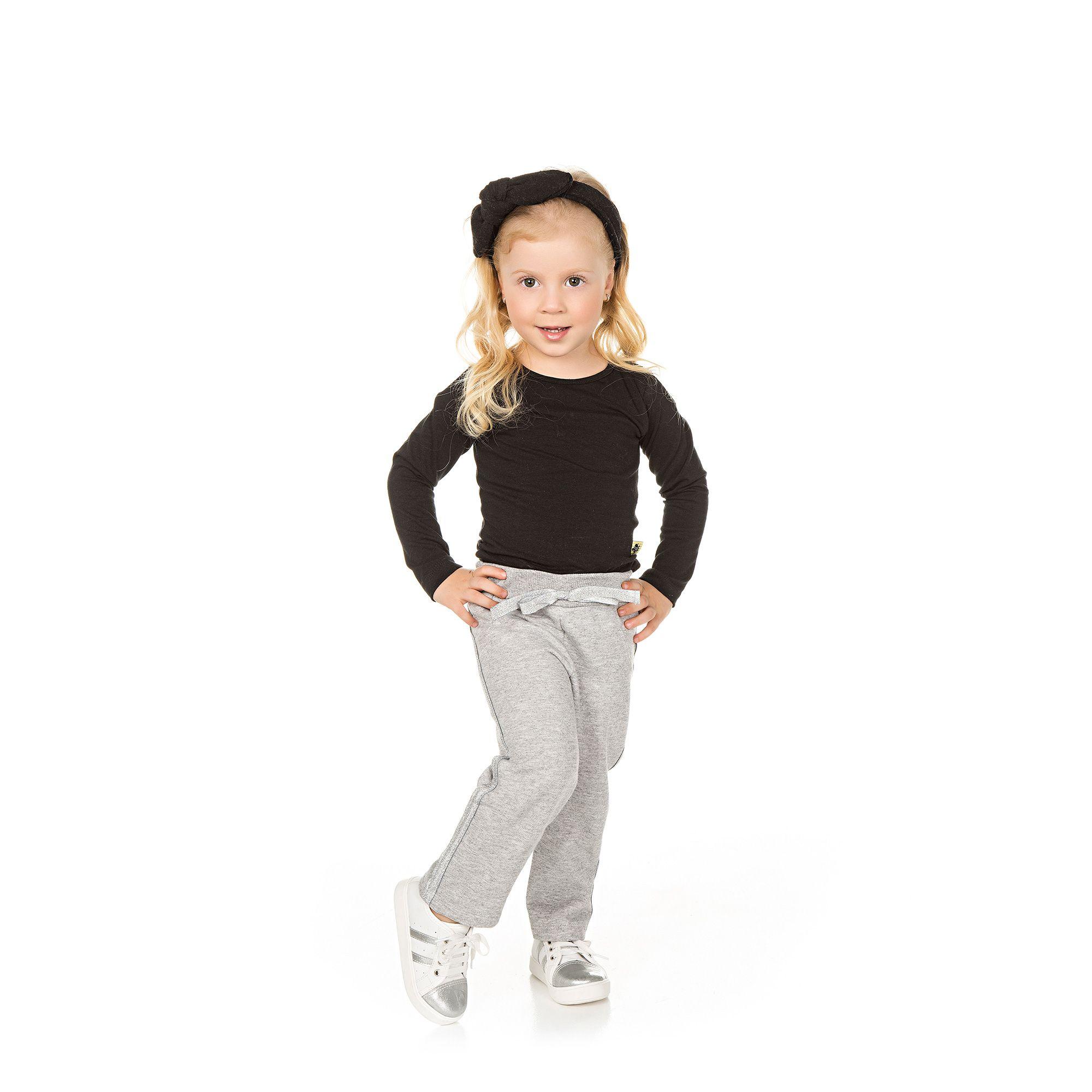 Calça de Moletom Infantil - Ref 4964 - Mescla