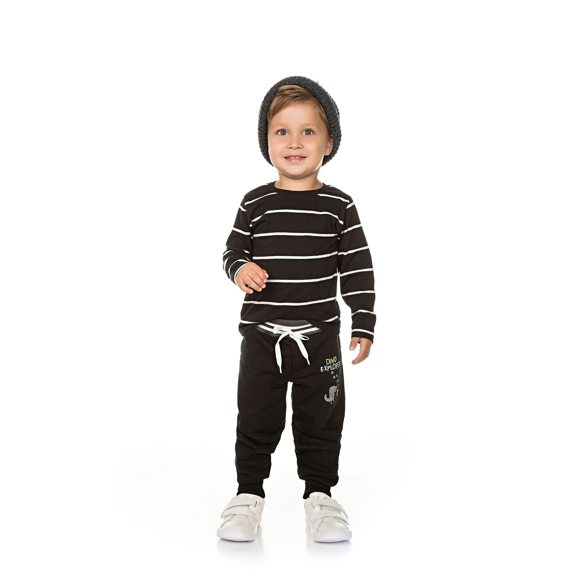 Calça Infantil Masculina - Ref 4982 - Preto