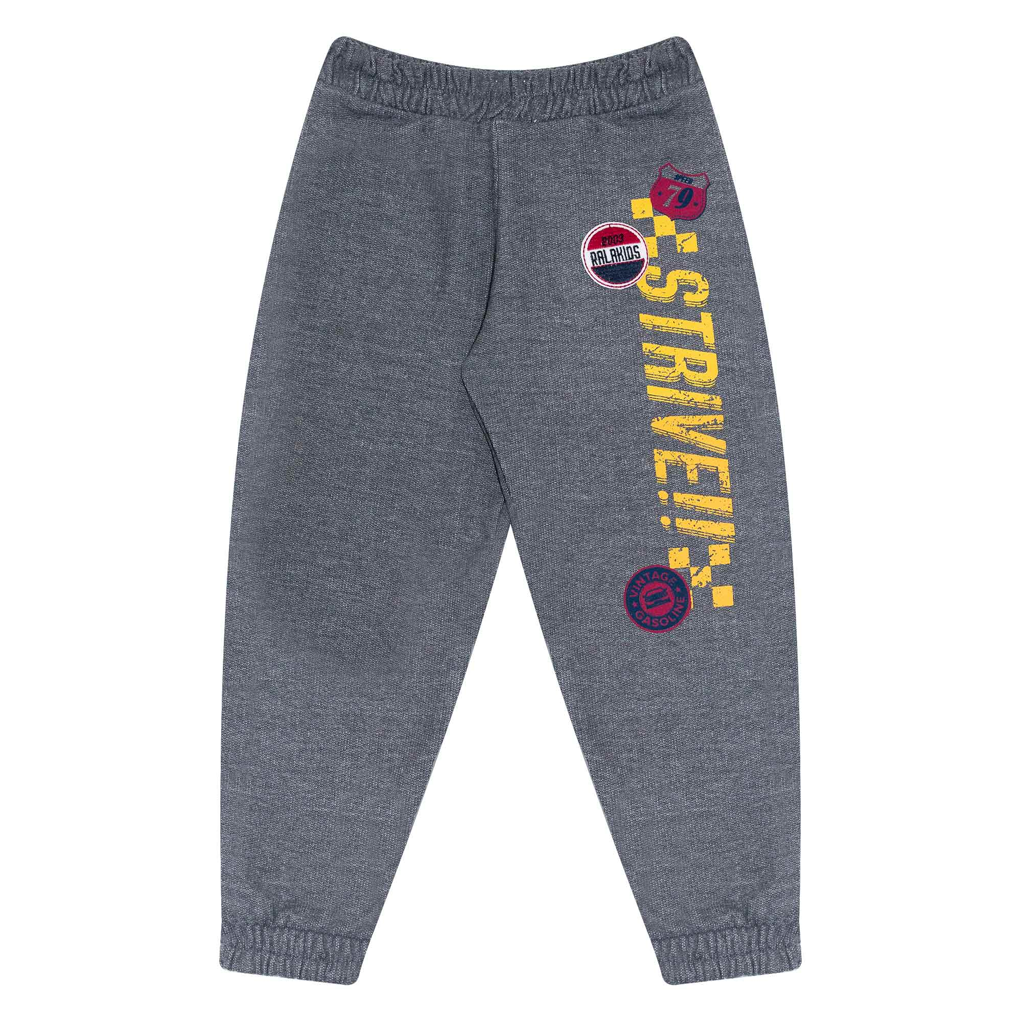 Calça Infantil Masculino - Ref 4156 - Mescla Escuro - Ralakids