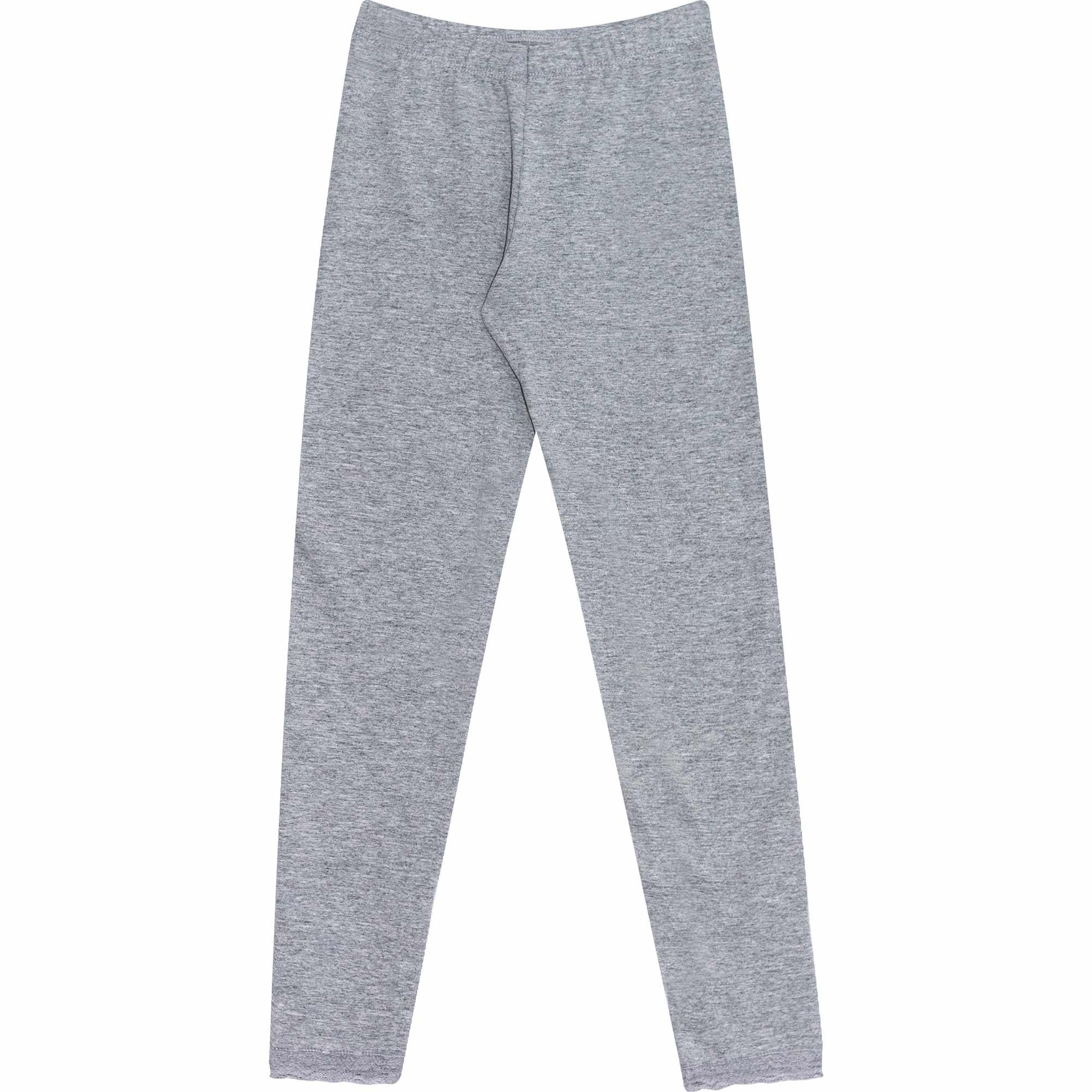 Calça Legging em Cotton com Renda - Ref 3018 - Mescla - Andritex