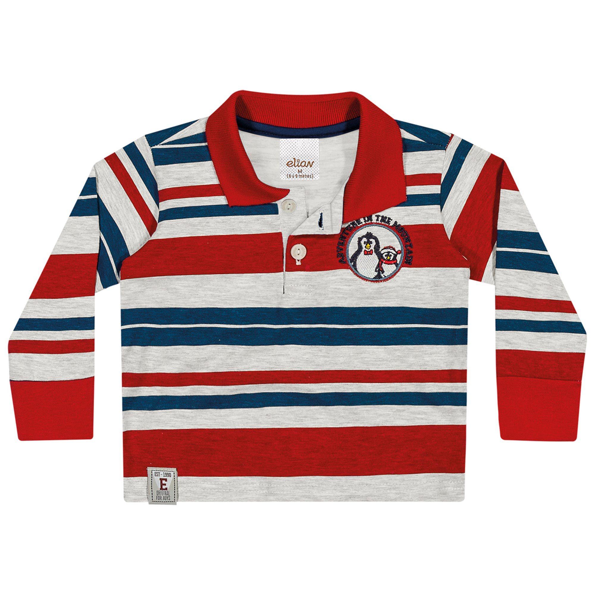 Camiseta Polo Infantil Elian - Ref 20745