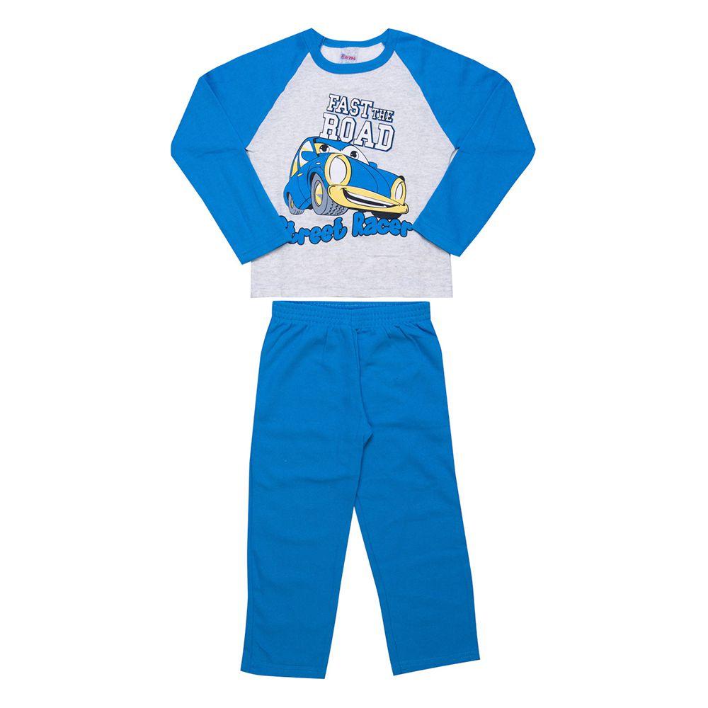 Conjunto Infantil  2 peças - Ref 1963 - Mescla/Azul