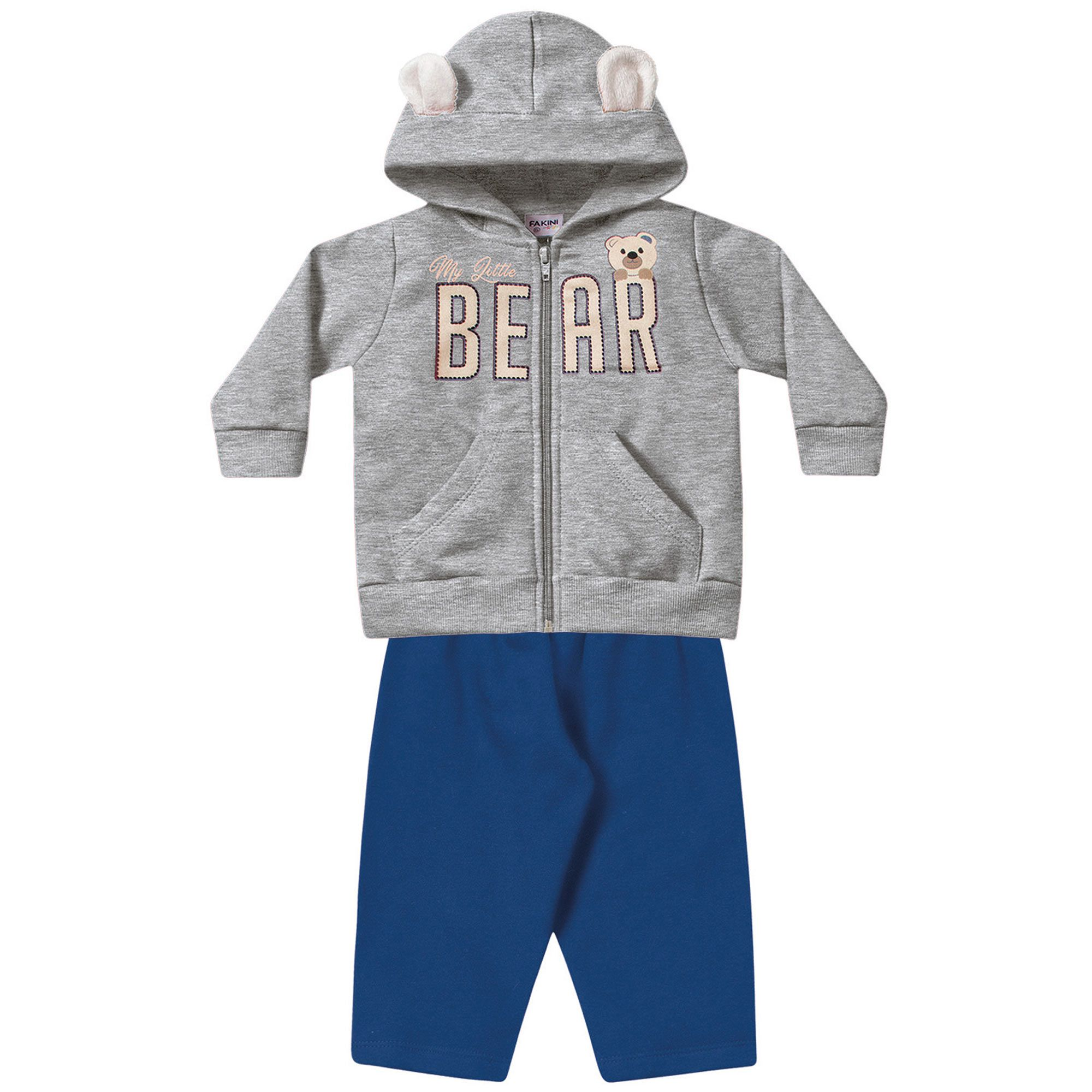 Conjunto Infantil Fakini - Bear Mescla