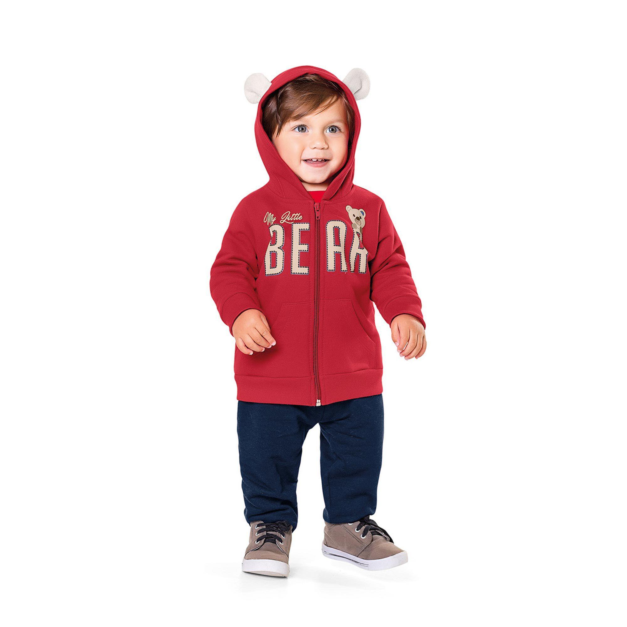 Conjunto Infantil Fakini - Bear Vermelho