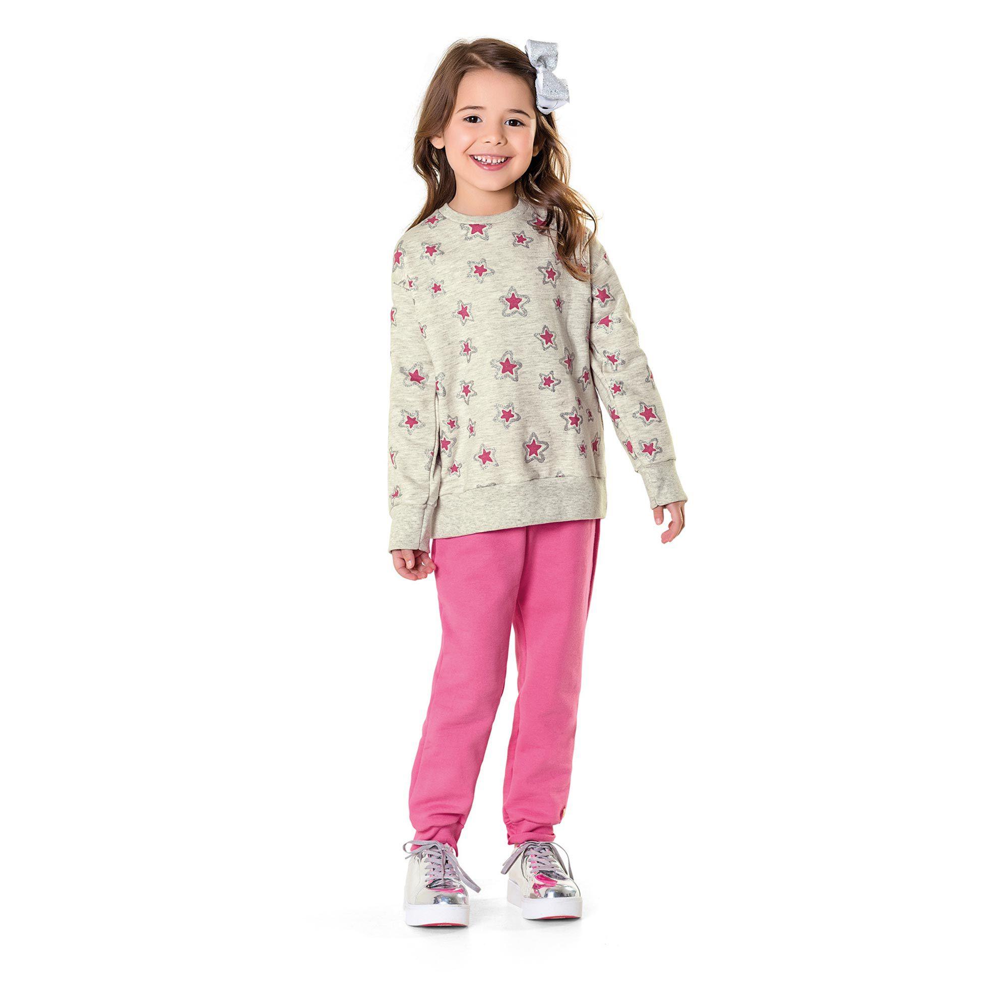 Conjunto Infantil Fakini - Estrela Mescla 233