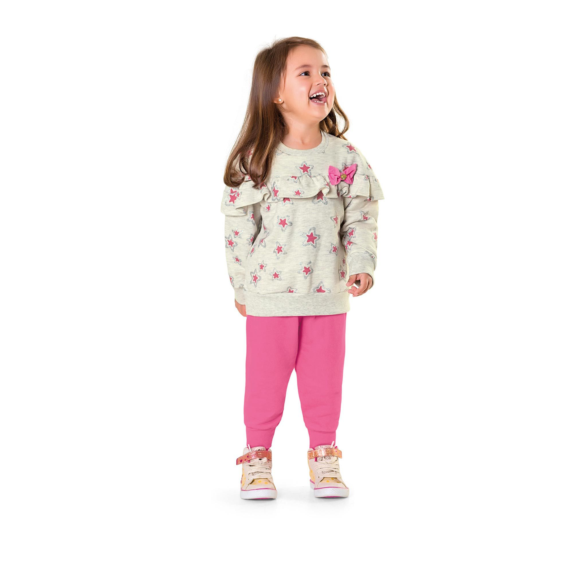 Conjunto Infantil Fakini - Estrela Mescla