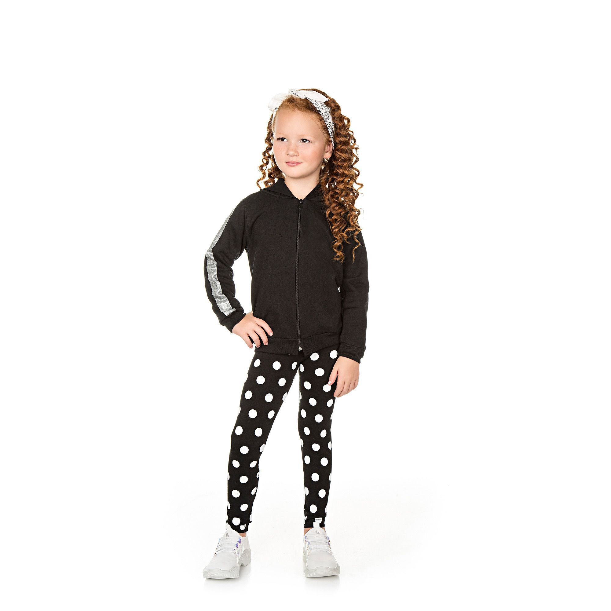 Conjunto Infantil Jaqueta e Legging  - Ref 4997 - Preto