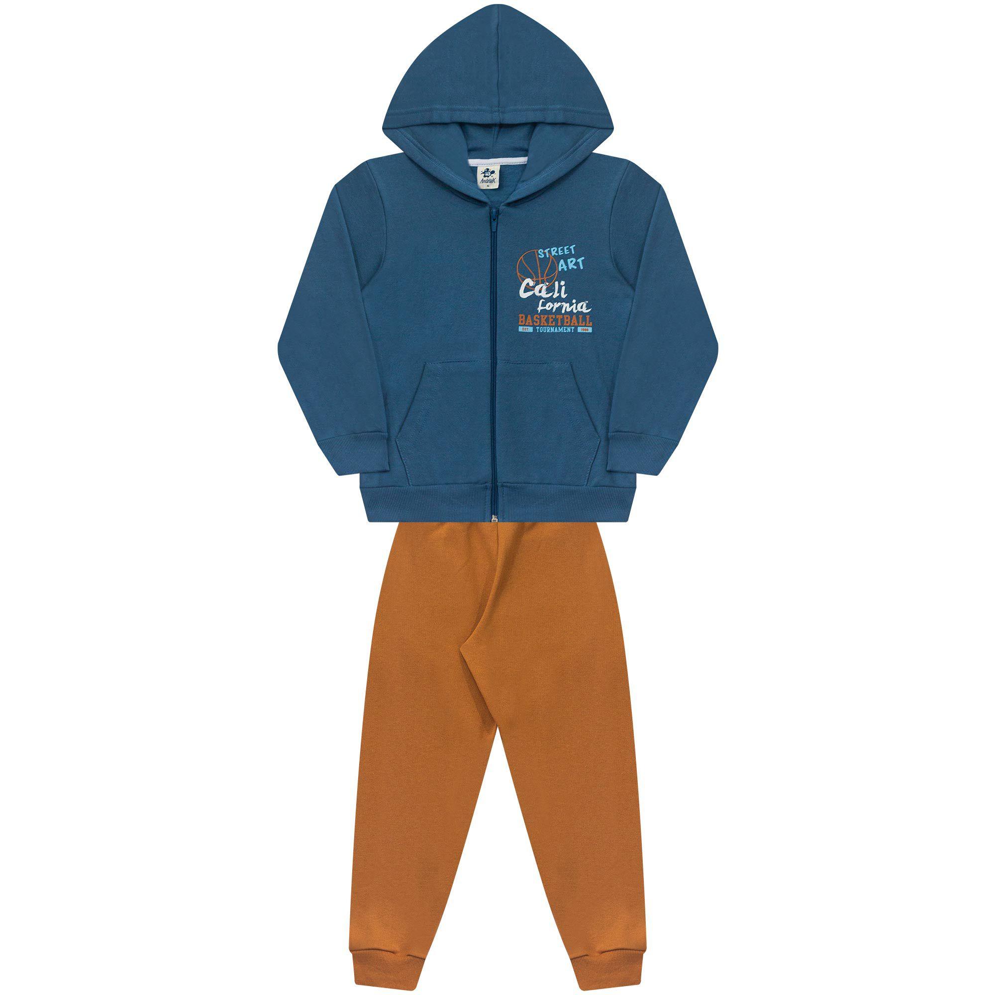 Conjunto Infantil Masculino  - Ref 5015 - Diadema/Amêndoa