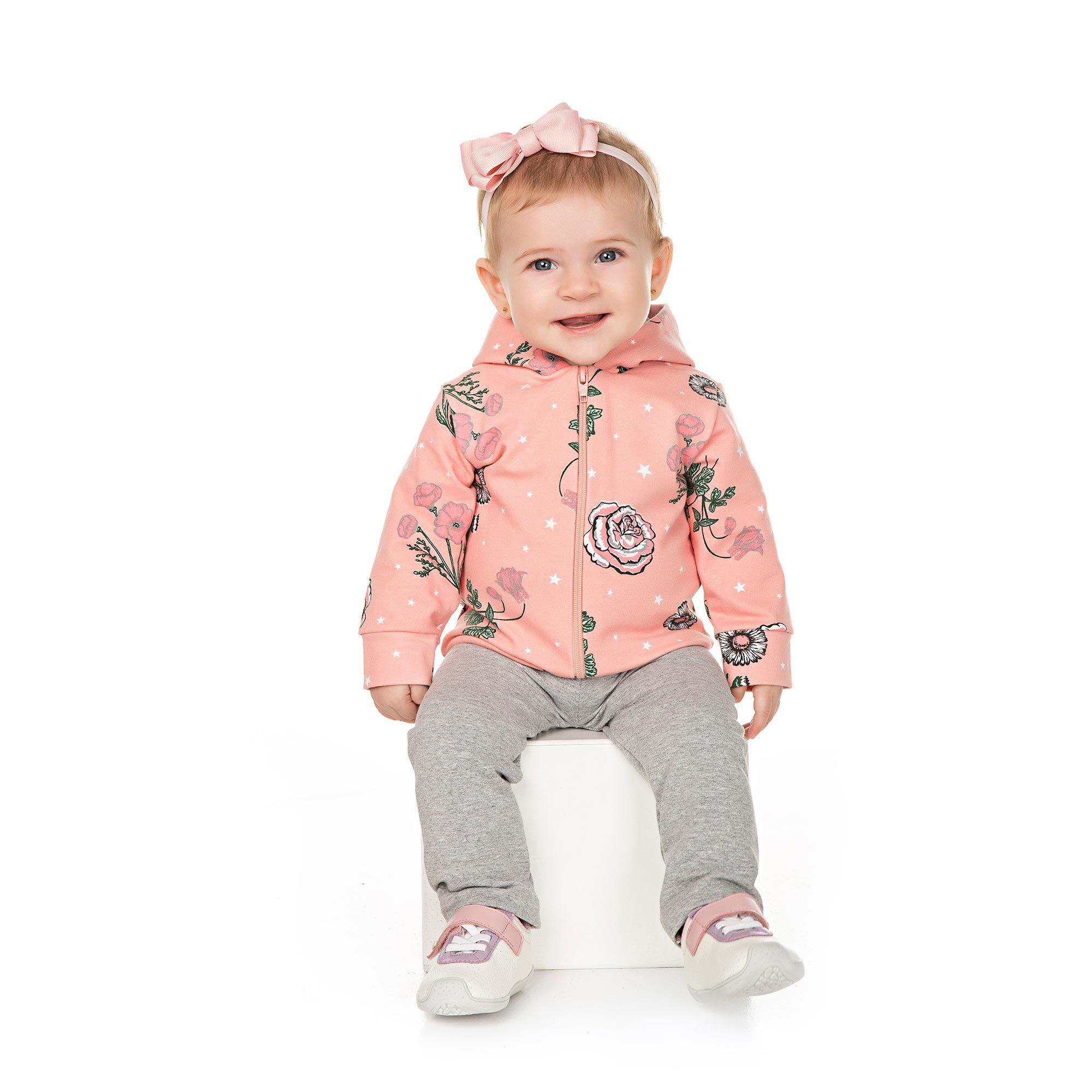 Conjunto Infantil para Bebê 2 peças - Ref 4933 - E21/Mescla