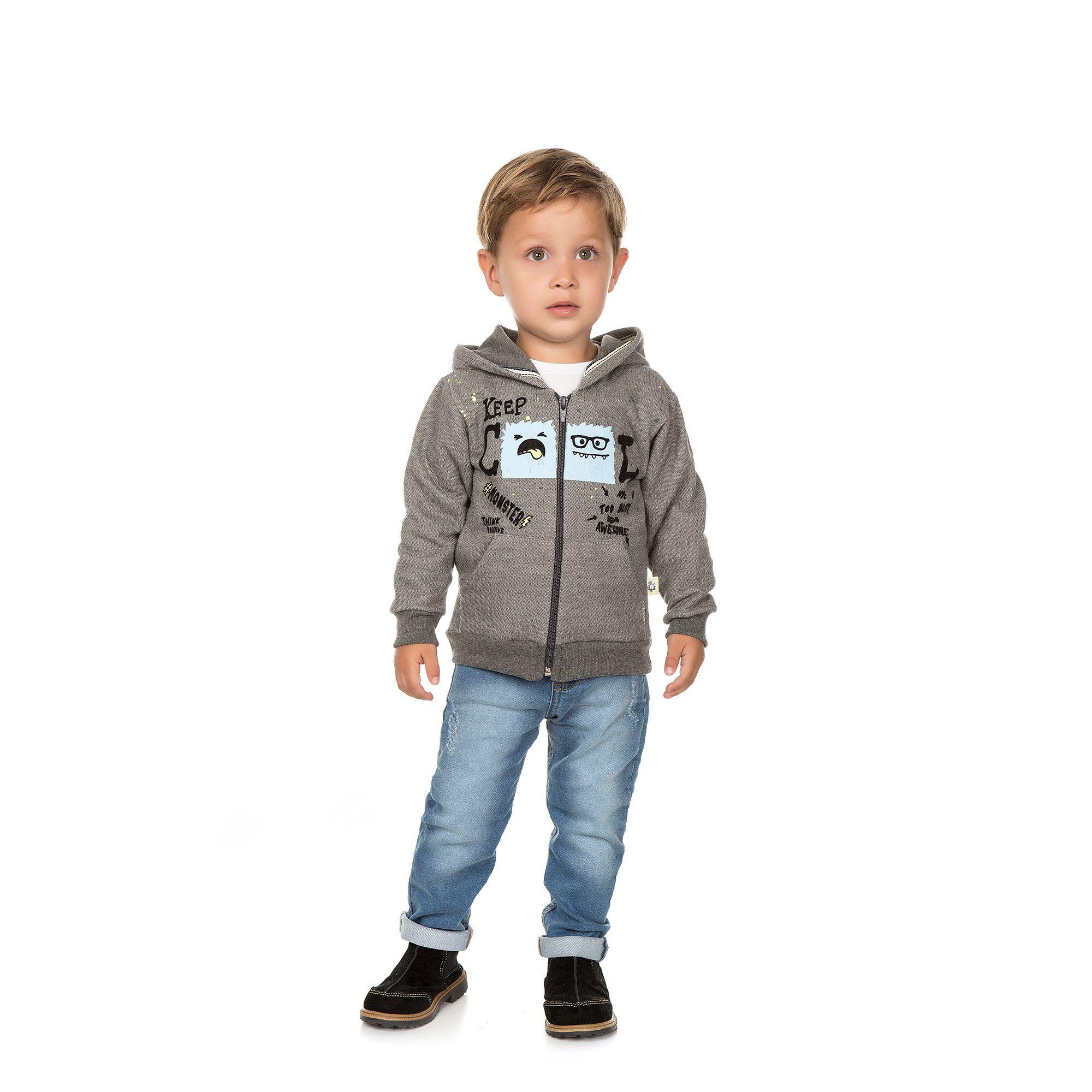 Jaqueta Infantil Masculina    - Ref 4981 - Mescla