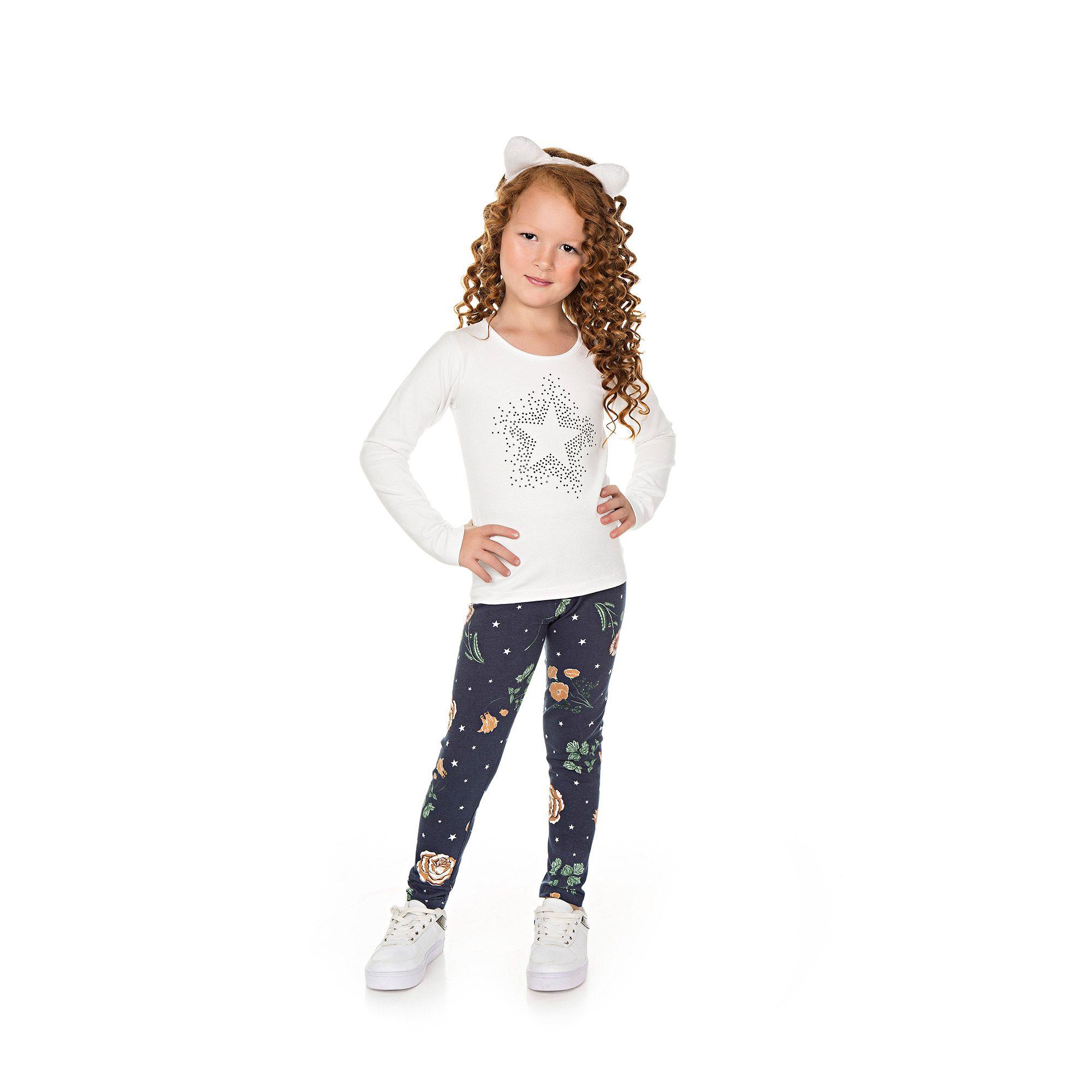 Legging Infantil Feminina - Ref 5010 - E22