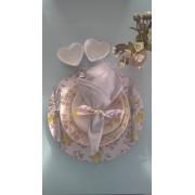 Guardanapo Maison Basic Cinza Claro Platinum