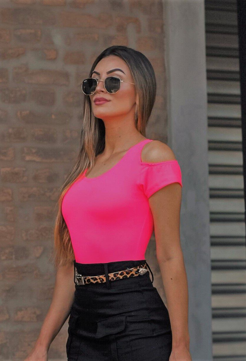 Body Rosa Neon
