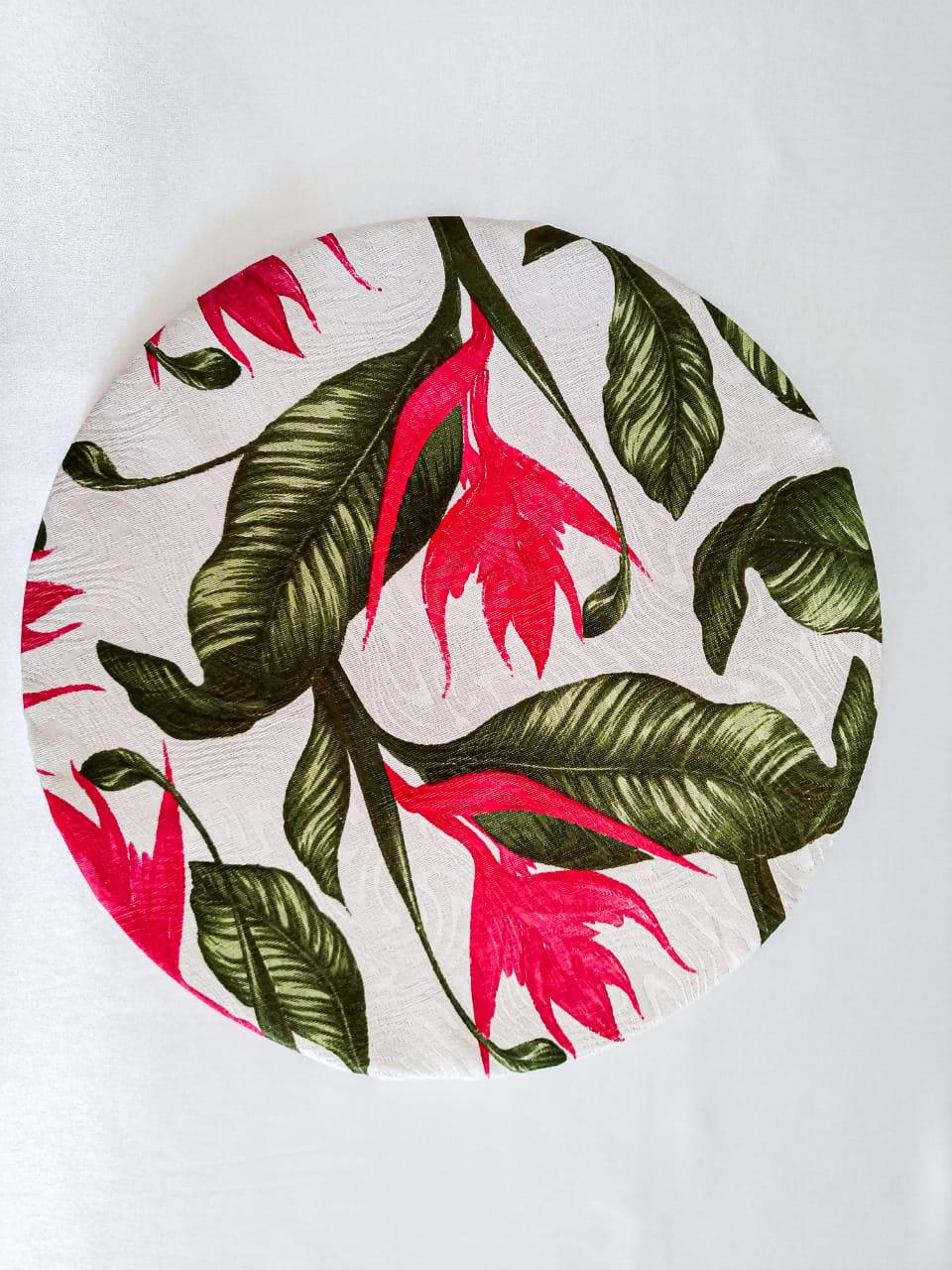 Capa de Sousplat Tropical pink