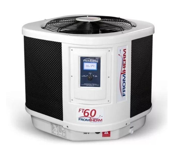 Aquecedor De Piscina - Fromtherm Ft60 p/ 60 Mil L. 220V mono
