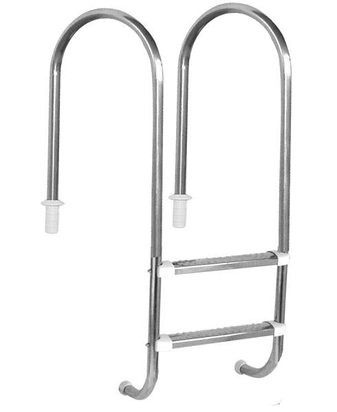 Escada Marinheiro 1 1/2'' Aço Inox 2 D. Anatômicos em Inox - Sodramar