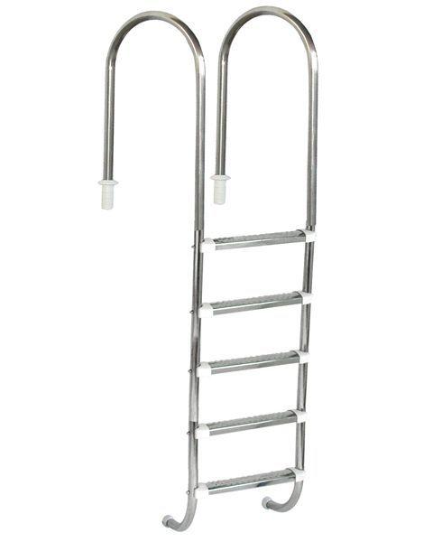 Escada Marinheiro 1 1/2'' Aço Inox 5 D. Anatômicos em Inox - Sodramar