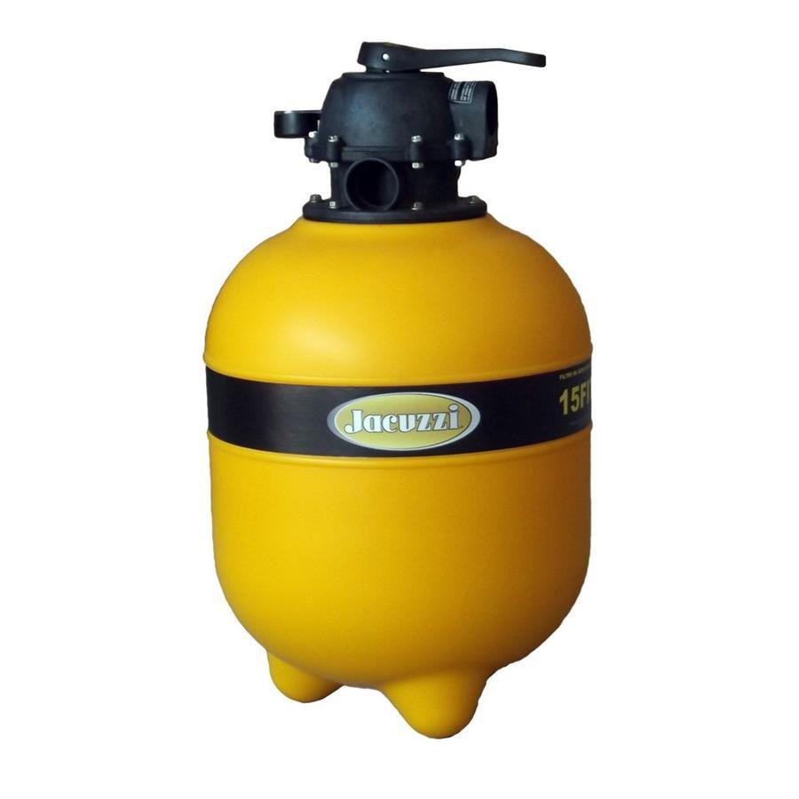 Filtro de piscina Jacuzzi 15TP p/ até 52 mil litros