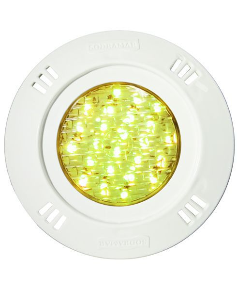 Luminária Sodramar Led SMD RGB 9W  (Frontal ABS)