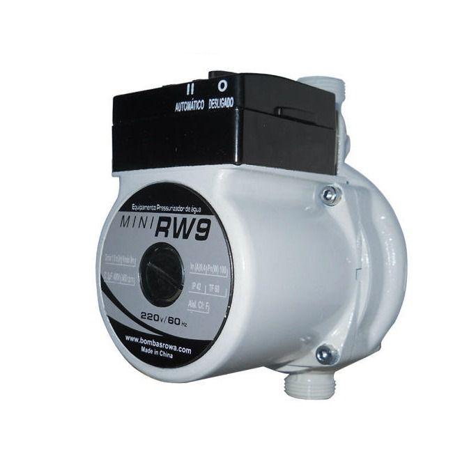 Mini Pressurizador Rowa Rw12 220V