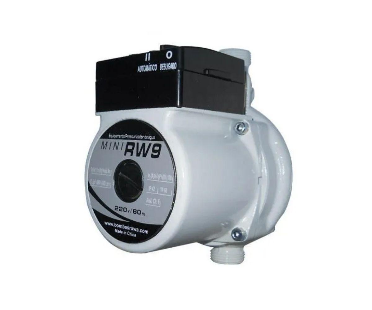 Mini Pressurizador Rowa Rw 9 220V