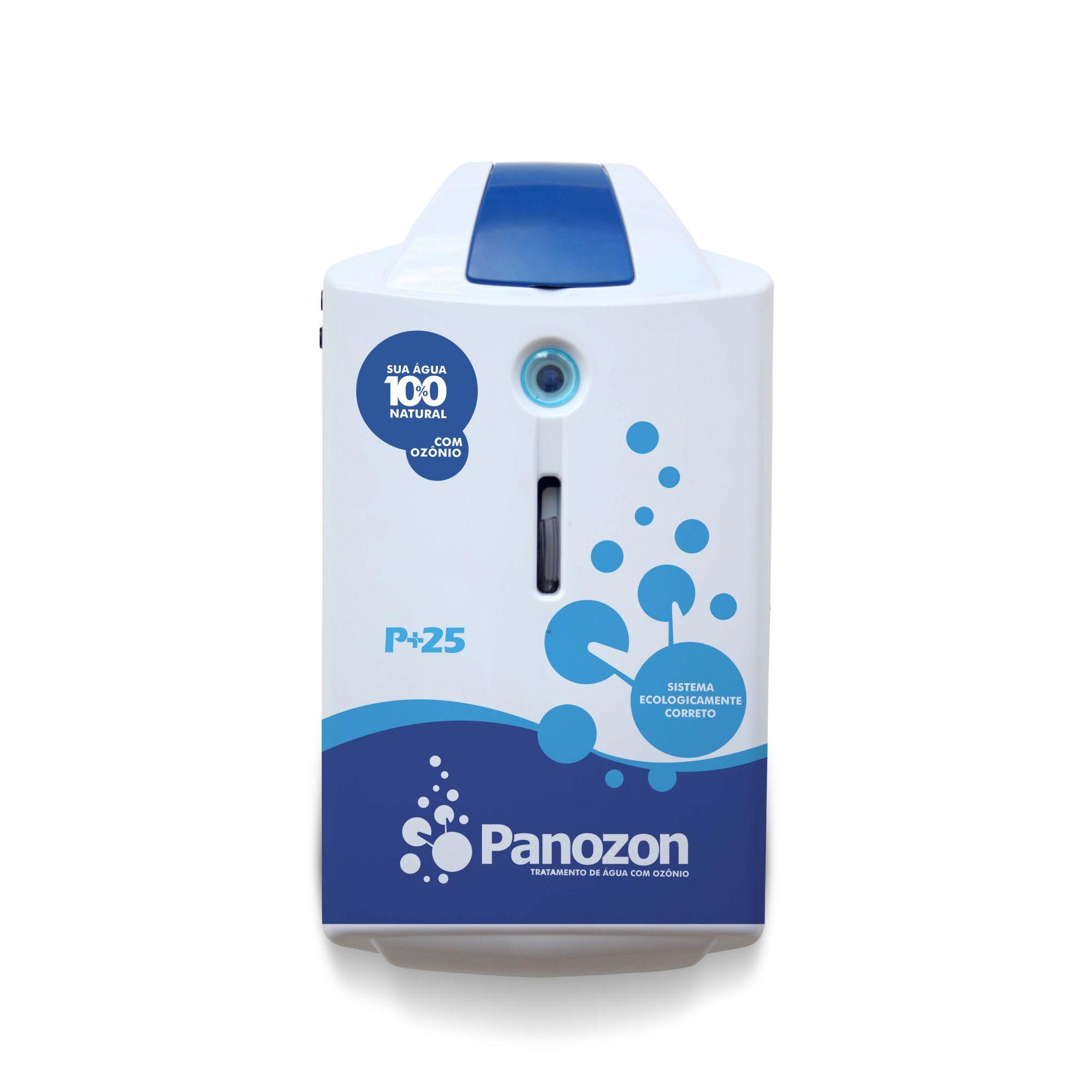 Gerador De Ozônio P/ Piscina Panozon P+25 Até 25.000 Litros
