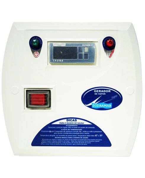 Quadro Digital p/ Sauna a Seco Contactor 50 A