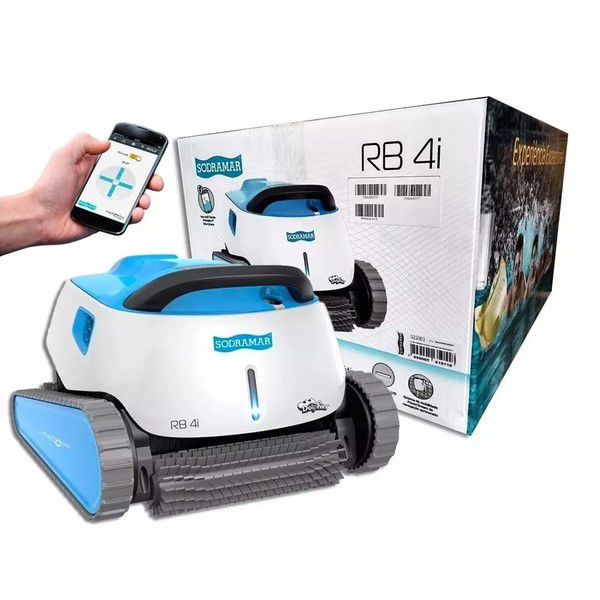 Robô Rb4i Sodramar para limpeza de piscinas de até 15m de comprimento