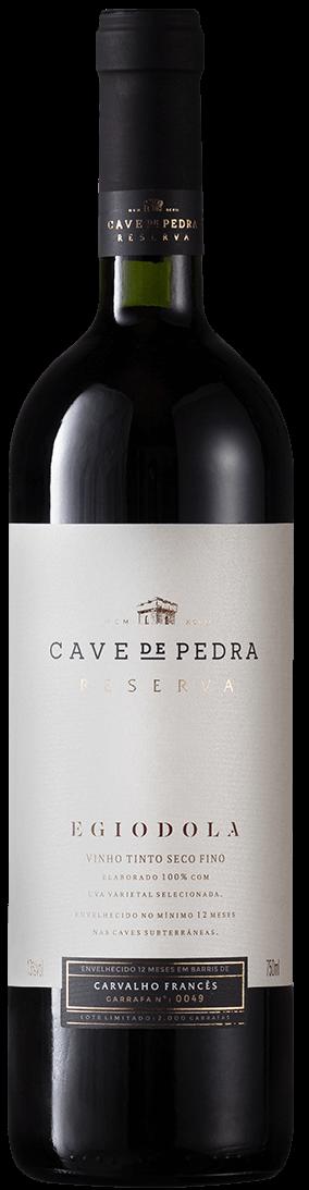 Cave de Pedra Egiodola 2018 750ML  - Vinícola Cave de Pedra