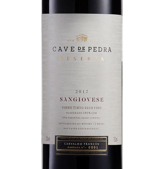 Cave de Pedra Sangiovese 2017 750ML  - Vinícola Cave de Pedra
